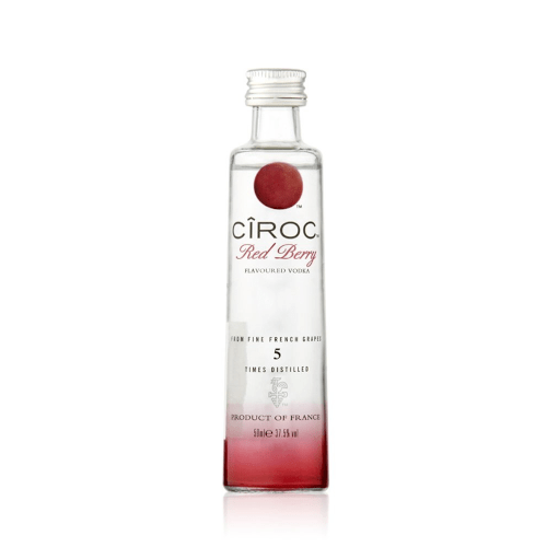 Ciroc Red Berry Flavoured Vodka Miniature - 5cl