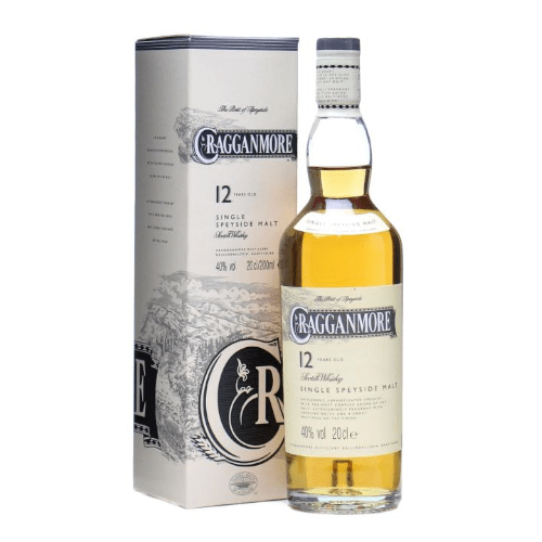 Cragganmore 12 yr Single Malt Scotch Whisky - 20cl