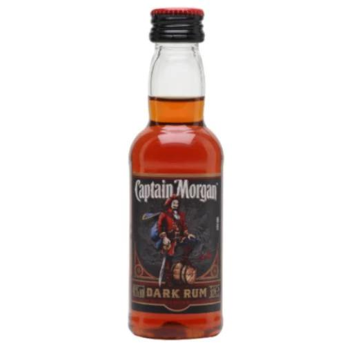 Just Miniatures-Captain Morgan Dark Rum 5cl