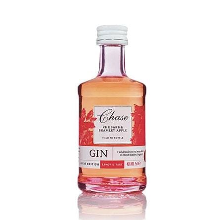 Chase Rhubarb & Bramley Apple Gin Miniature - 5cl