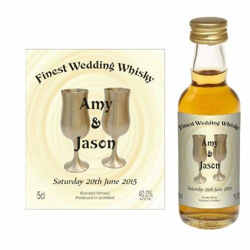 Personalised Design 08 (Wedding Favour Miniature)