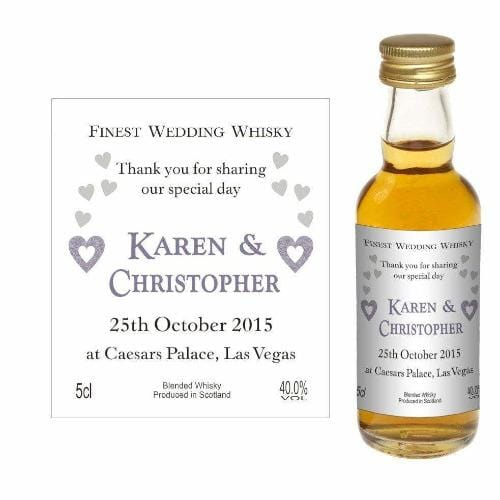 Personalised Design 10 (Wedding Favour Miniature)
