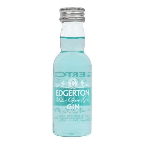 Edgerton Blue Spice Gin Miniature - 5cl