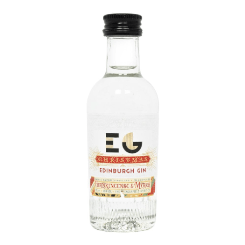 Edinburgh Christmas Gin Miniature - 5cl