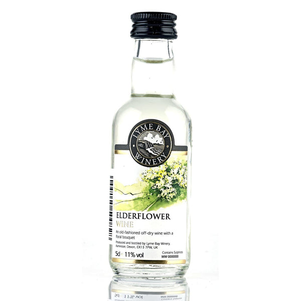 Lyme Bay Elderflower Wine - 5cl
