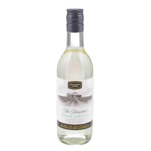 Founders Stone Pinot Grigio White Wine Miniature - 18.75cl