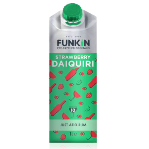 Funkin Strawberry Daiquiri Cocktail Mixer 1 Litre