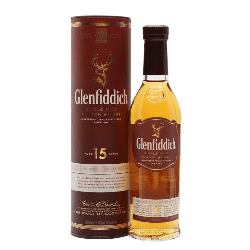 Glenfiddich 15 yr Single Malt Scotch Whisky - 20cl