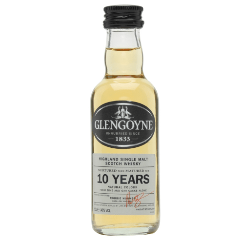 Glengoyne 10 year Single Malt Scotch Whisky Miniature - 5cl