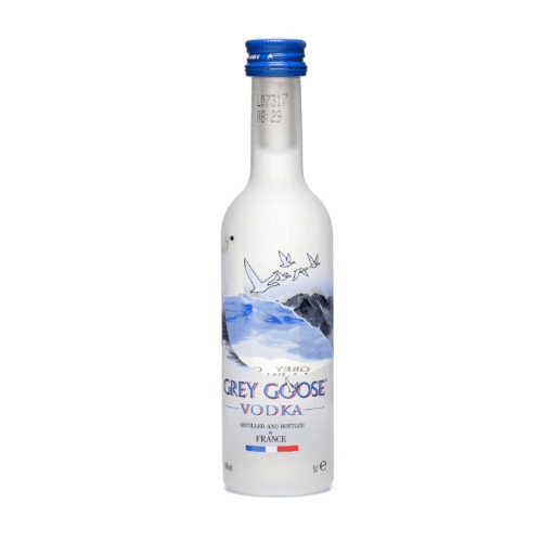 Just Miniatures-Grey Goose Original Plain Vodka Miniature