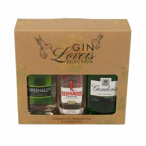 Gin Selection Miniature Trio Gift - 3 x 5cl