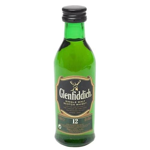 Glenfiddich 12 year Single Malt Scotch Whisky Miniature (UNTUBED) - 5cl