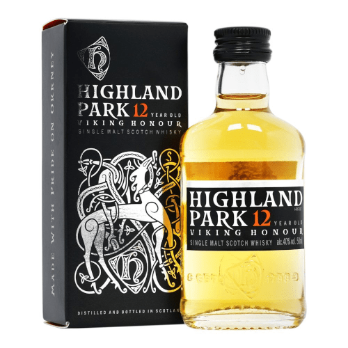 Highland Park 12 Year Island Single Malt Scotch Whisky- 5cl