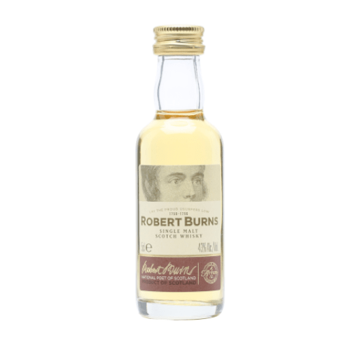 Robert Burns Single Malt Scotch Whisky Miniature - 5cl