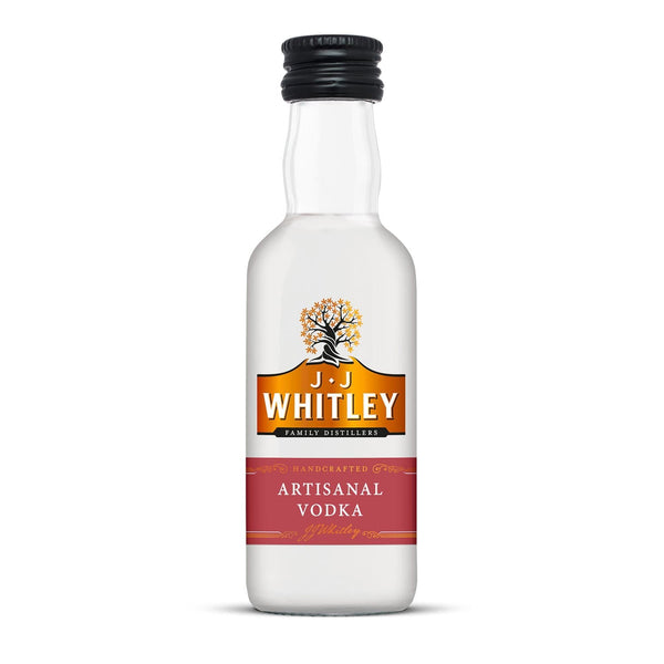 JJ Whitley Artisanal Vodka Miniature - 5cl