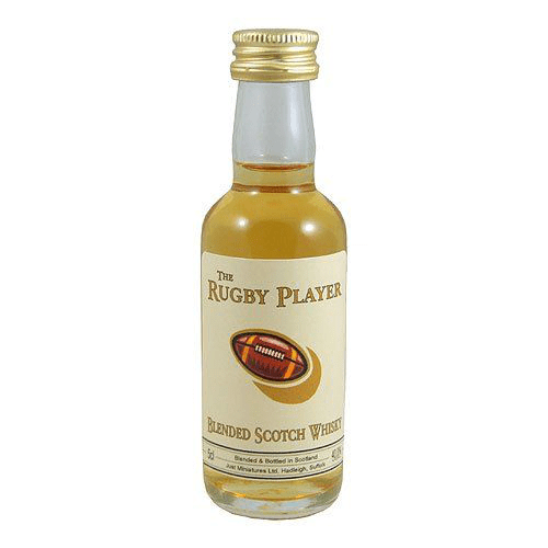 Rugby Player Blended Whisky Miniature - 5cl