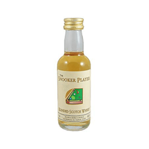 Snooker Player Blended Scotch Whisky Miniature - 5cl