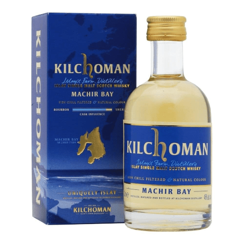 Kilchoman Machir Bay Islay Single Malt Scotch Whisky Miniature - 5cl