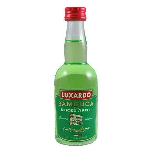 Luxardo Sour Apple Liqueur Miniature - 5cl