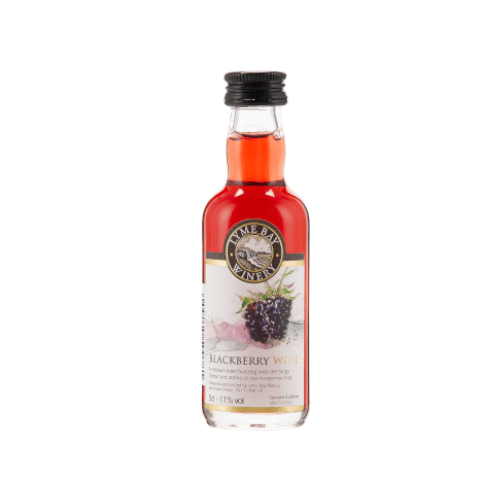Blackberry Fruit Wine Miniature (Lyme Bay) - 5cl