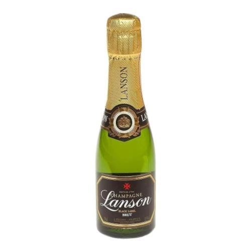Lanson Black Label Brut Champagne Miniature - 20cl
