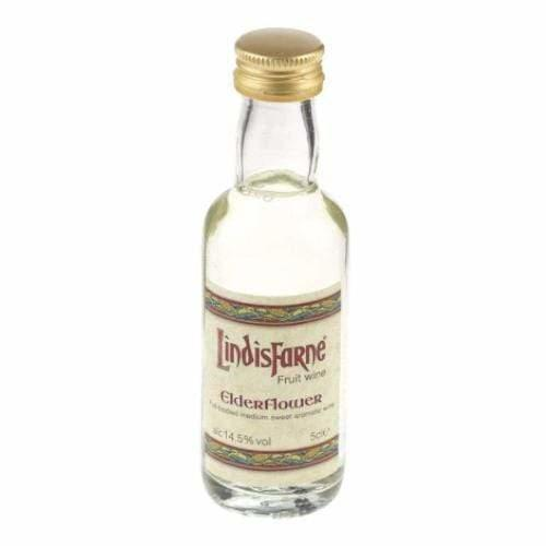 Lindisfarne Elderflower Fruit Wine Miniature - 5cl