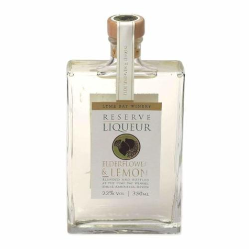 Lyme Bay Elderflower & Lemon Reserve Liqueur - 35cl