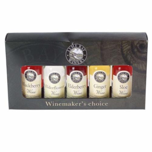 Lyme Bay Fruit Wines Miniature Gift Box - 5 x 5cl