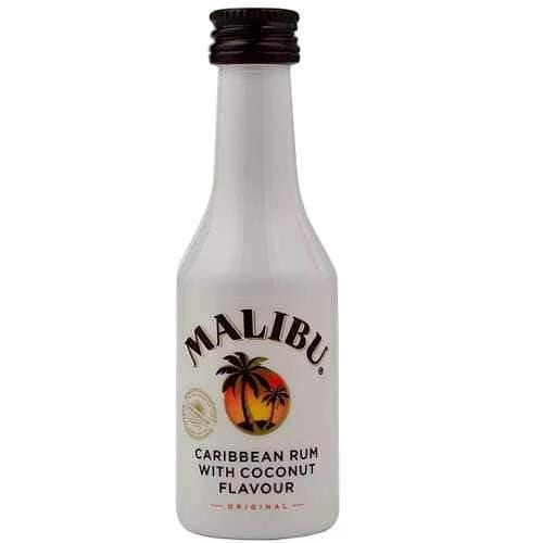Just Miniatures-Malibu Coconut Rum Miniature - 5cl