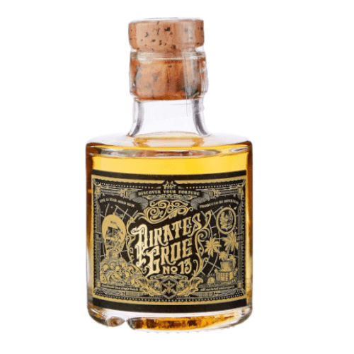 Pirates Grog No. 13 Single Batch 13yr Aged Rum Miniature - 5cl