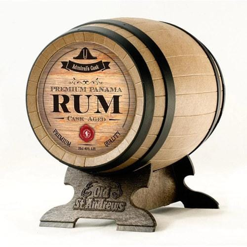 Panama Rum Barrel Miniature