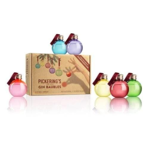 Pickering's Hand-Picked Gin Baubles Gift Set - 6 x 5cl