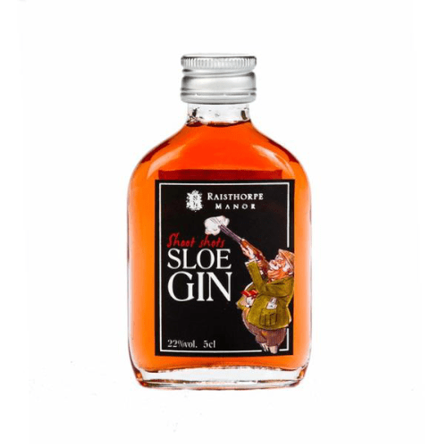 Raisthorpe Manor Shoot Shots Sloe Gin Miniature - 5cl