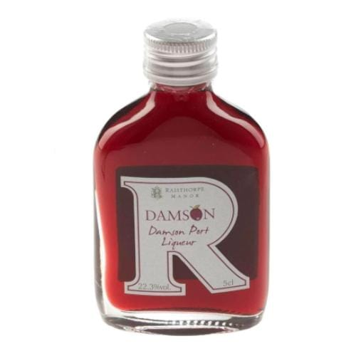 Raisthorpe Manor Damson Port Liqueur Miniature - 5cl