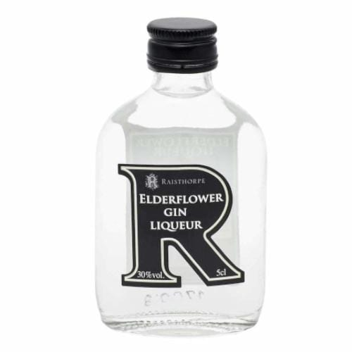 Raisthorpe Manor Elderflower Gin Liqueur Miniature - 5cl