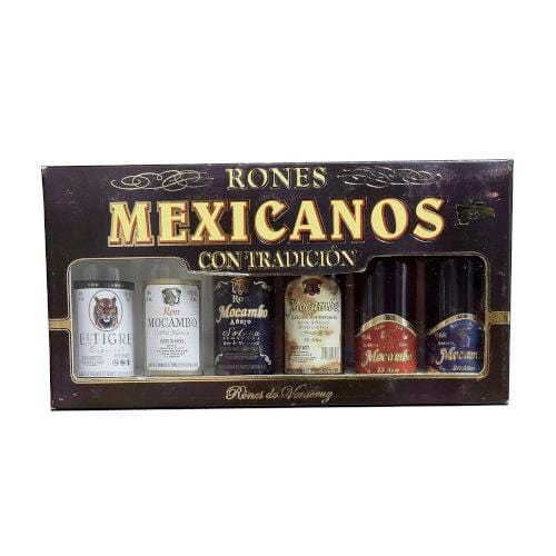 Rones Mexicanos Miniature Gift Set - 6 x 5cl