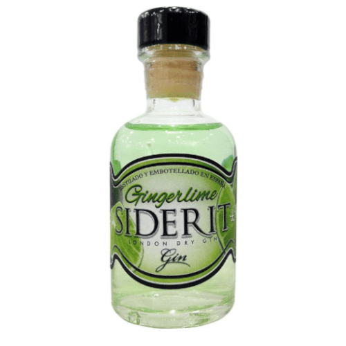 Siderit Spanish Ginger Lime Dry Gin Miniature - 5cl
