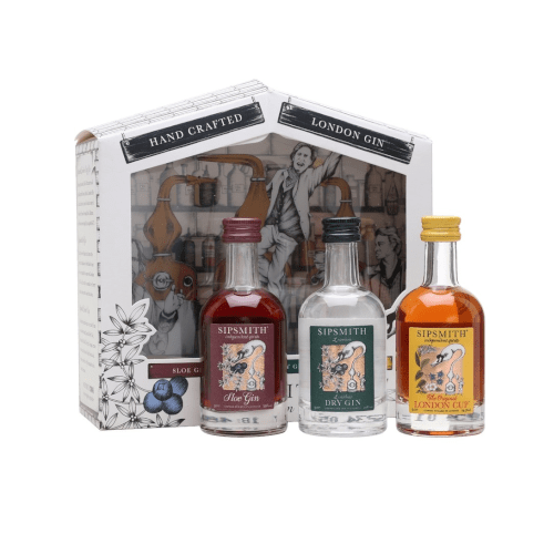 Just Miniatures- Sipsmith Distillery Sipping Gift Pack