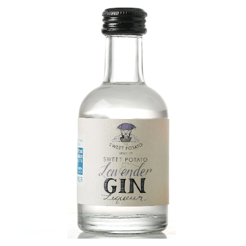 Sweet Potato Lavender Gin Liqueur Miniature - 20cl