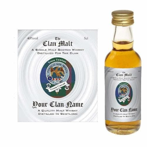 Shaw (Scottish Clan Malt Whisky Miniature) in gift box