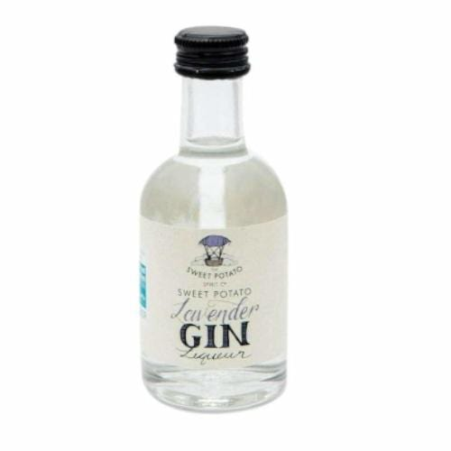 Sweet Potato Lavender Gin Liqueur Miniature - 5cl