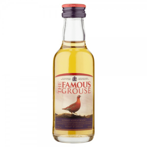 The Famous Grouse Blended Scotch Whisky Miniature - 5cl