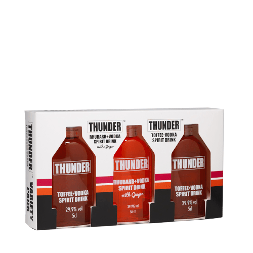 Thunder Toffee + Vodka Gift Pack - 3 x 5cl