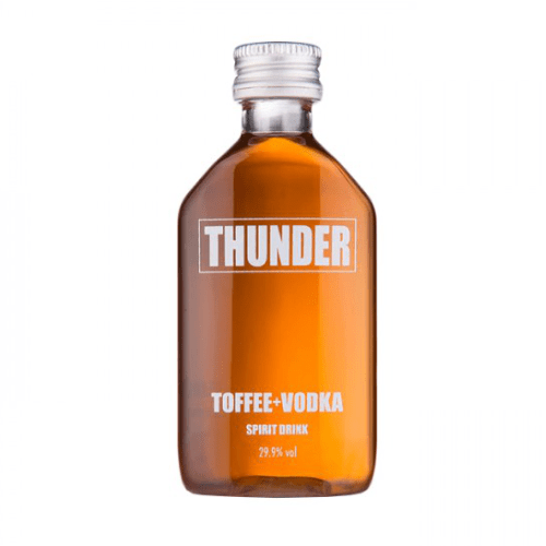 Thunder Toffee + Vodka Miniature - 5cl