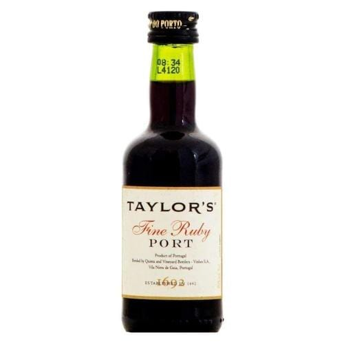 Taylors Fine Ruby Port Miniature - 5cl