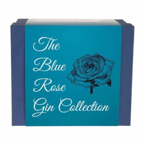 The Blue Rose Gin Collection Gift Set with 3 x Gin Miniatures