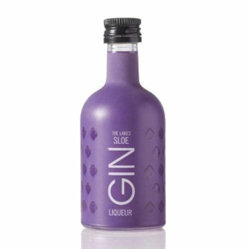 The Lakes Sloe Gin Liqueur Miniature - 5cl