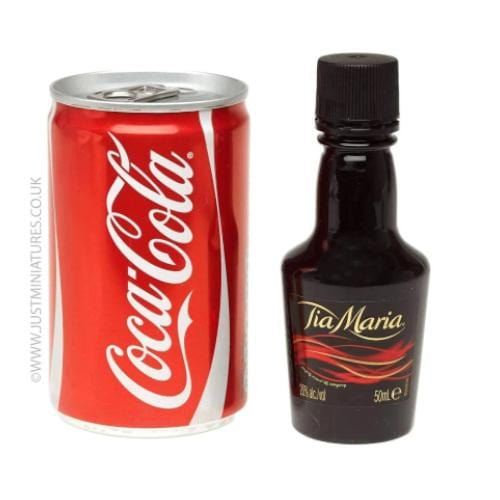 Tia Maria Liqueur & Coke (Miniature & Mini Can Set)