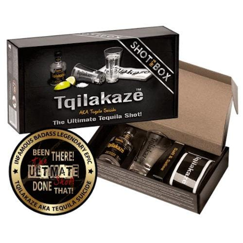 Tqilakaze The Ultimate Tequila Shot-In-A-Box Gift - 5cl