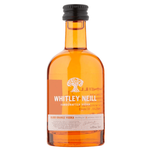 Whitley Neill Blood Orange Vodka Miniature - 5cl